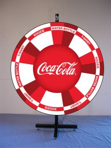 Coca Cola Custom Prize Wheel