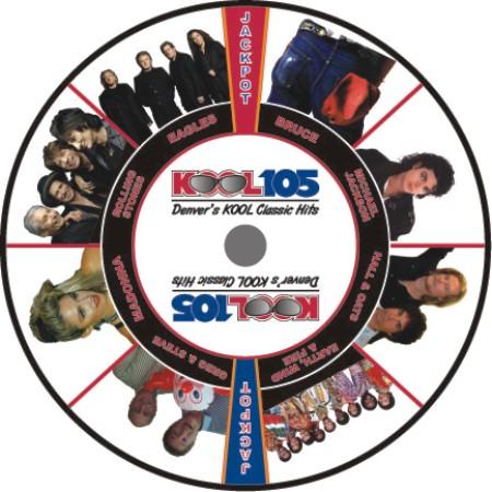KOOL 105 Prize Wheel