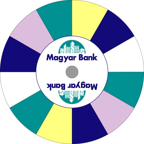 Magyar Bank prize wheel