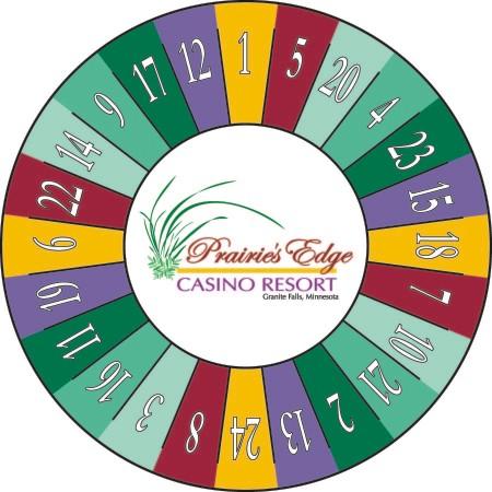 Prairies Edge Casino Prize Wheel