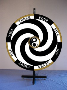 Radio 8 Ball Prize Wheel