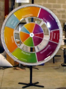 "60"" Prize Wheel w/Floor Stand"