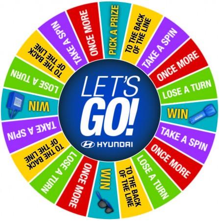 ASV Hyundai Prize Wheel