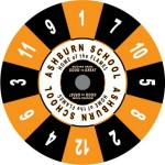 Ashburn School custom prize wheel