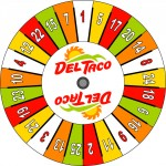 Del Taco Prize Wheel