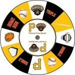 Pittsburgh Pirates Baseball custom prize wheel