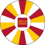 Wells Fargo custom prize wheel