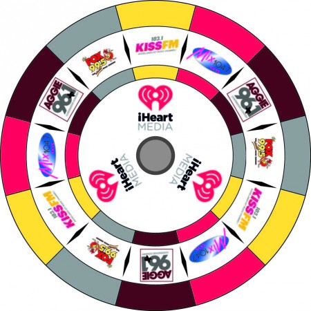 iHeart Media prize wheel